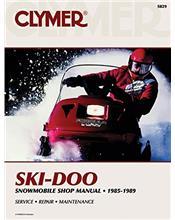 Ski Doo Snowmobile 1985 - 1989 Clymer Owners Service & Repair Manual