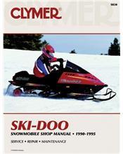 Ski Doo Snowmobile 1990 - 1995 Clymer Owners Service & Repair Manual