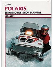 Polaris Snowmobile 1984 - 1989 Clymer Owners Service & Repair Manual