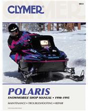 Polaris Snowmobile 1990 - 1995 Clymer Owners Service & Repair Manual