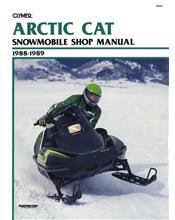 Arctic Cat Snowmobile 1988 - 1989 Clymer Owners Service & Repair Manual
