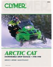 Arctic Cat Snowmobile 1990 - 1998 Clymer Owners Service & Repair Manual