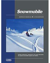 Proseries Snowmobile 1962 - 1986 Clymer Owners Service & Repair Manual