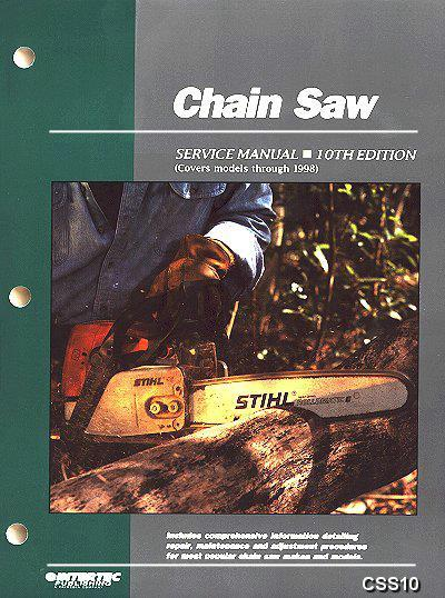 Chain Saw Service Manual (10th Edition) Clymer Owners Service & Repair Manual