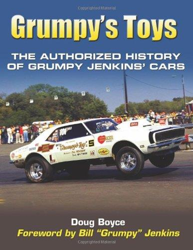 Grumpys Toys : The Authorized History of Grumpy Jenkins' Cars - Front Cover