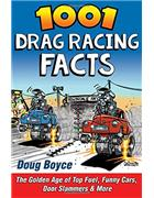 1001 Drag Racing Facts - Front Cover