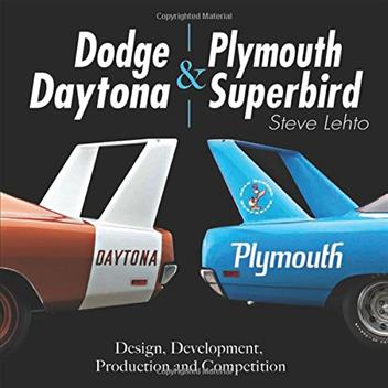 Dodge Daytona and Plymouth Superbird - Front Cover