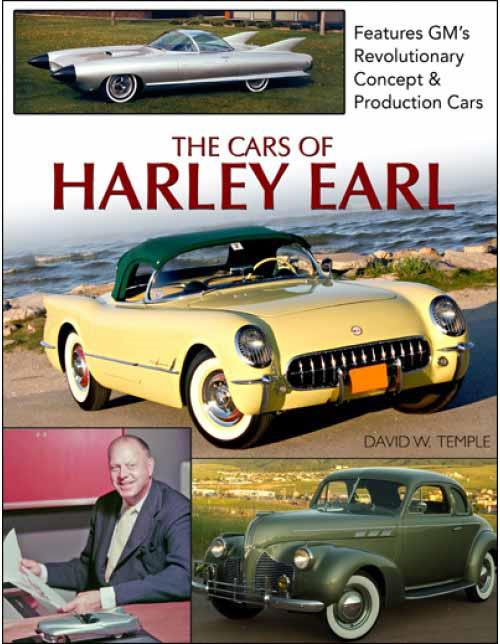 The Cars of Harley Earl - Front Cover