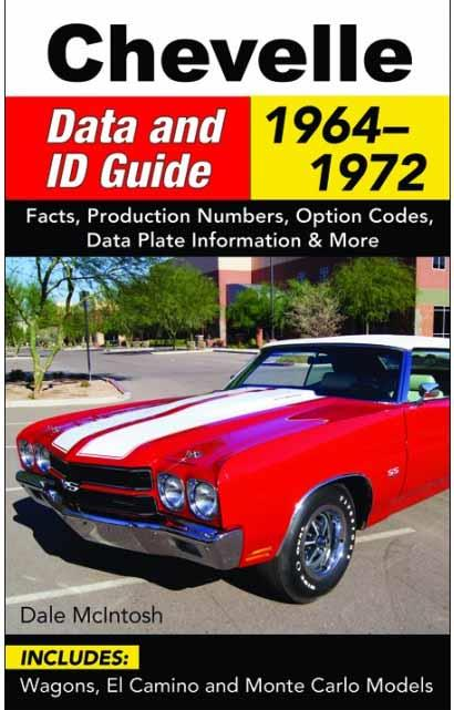Chevelle Data and ID Guide 1964-1972 - Front Cover