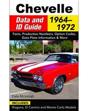 Chevelle 1964 - 1972: Data and ID Guide