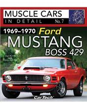 Muscle Cars in Detail Number 07 : 1969 - 1970 Ford Mustang Boss 429
