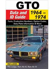 GTO Data and ID Guide 1964 - 1972