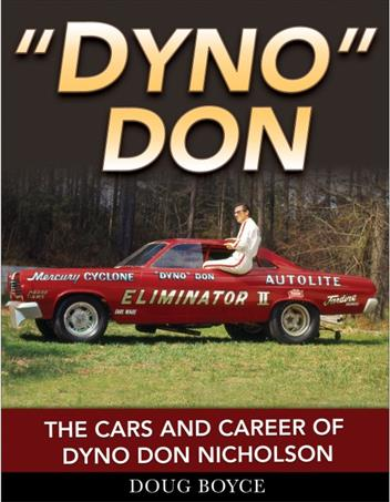 Dyno Don : The Cars and Career of Dyno Don Nicholson - Front Cover