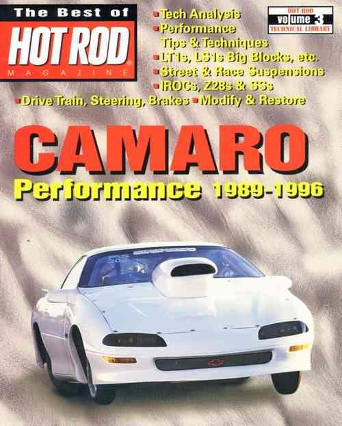 Camaro Performance 1989 - 1996 : The Best Of Hot Rod Magazine - Front Cover