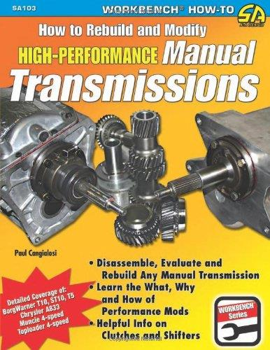 How To Build And Modify High Performance Manual Transmissions - Front Cover