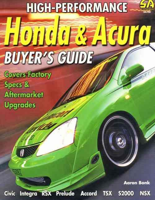 High-Performance Honda & Acura Buyer's Guide - Front Cover