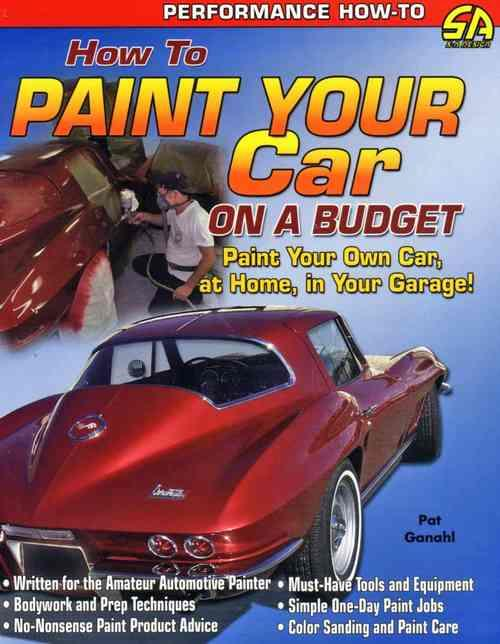 How to Paint Your Car on a Budget - Front Cover