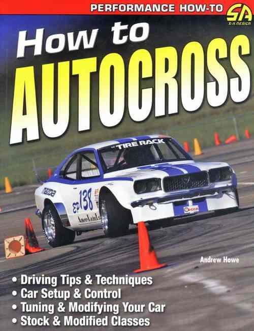 How To Autocross - Front Cover