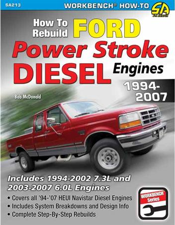 How to Rebuild Ford Powerstroke Diesel Engines 1994 - 2007 - Front Cover