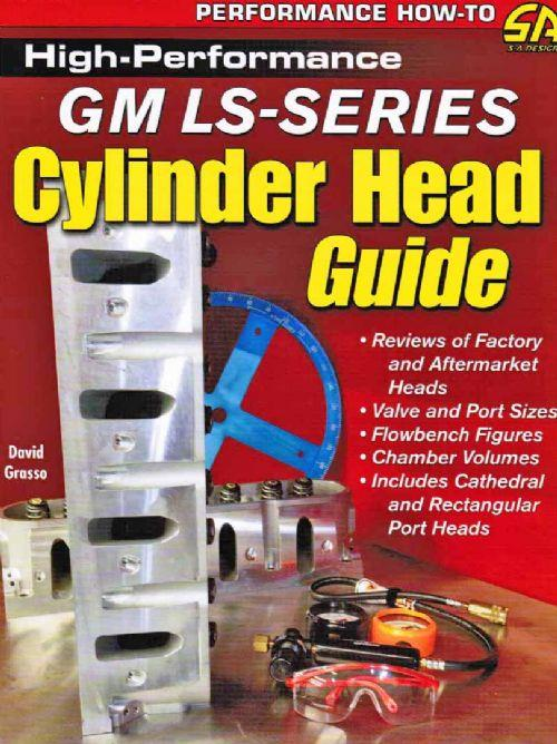 High-Performance GM LS-Series Cylinder Head Guide - Front Cover