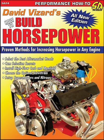 David Vizard's How to Build Horsepower - Front Cover