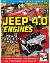 Jeep 4.0 Engines : How to Rebuild and Modify