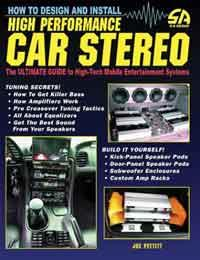 How to Design and Install High Performance Car Stereo