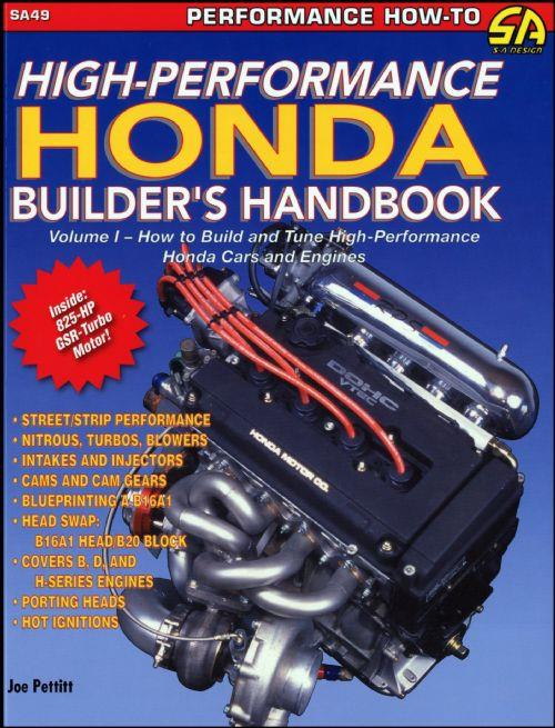 High Performance Honda Builders Handbook Volume 1 Revised Edition - Front Cover