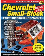 Chevrolet Small Blocks Parts Interchange Manual (Revised Edition)