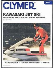 Kawasaki Jet Ski 1976 - 1991 Clymer Owners Marine Service & Repair Manual