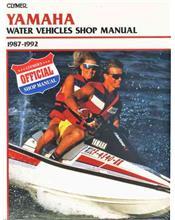 Yamaha Water Vehicles Jet Ski 1987 - 1992