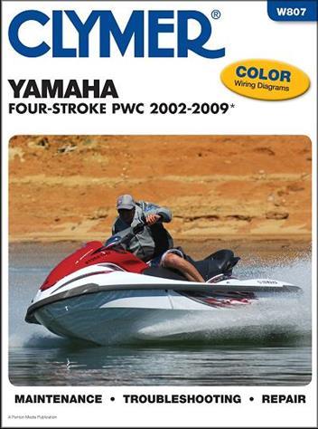 Yamaha Four-Stroke FX, FX140, VX PWC 2002 - 2009 Clymer ... on
