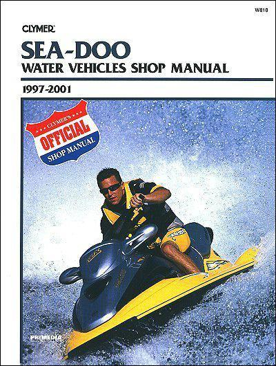 Sea Doo Water Vehicles 1997 - 2001 - Front Cover