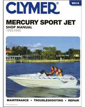 Mercury Sport Jet 1993 - 1995 Clymer Owners Marine Service & Repair Manual
