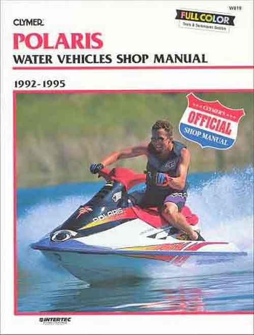 Polaris SL650, SL750, SLT750 Personal Watercraft 1992 - 1995 - Front Cover