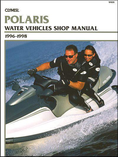 Polaris Water Vehicles 1996 - 1999 - Front Cover