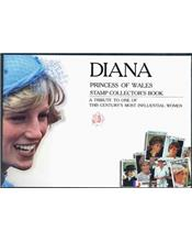 Diana Princess Of Wales Stamp Collectors Book