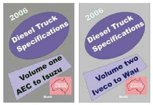 Diesel Truck Specifications 1970 - 2006 (5th Edition) - Front Cover