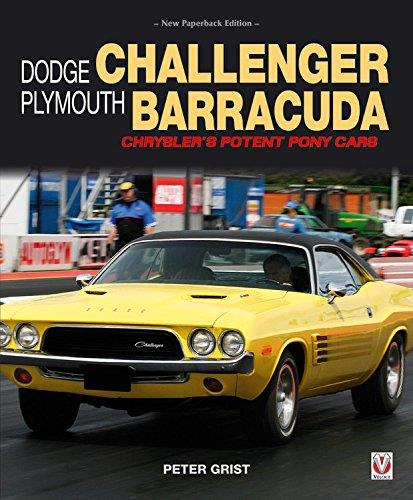 Dodge Challenger & Plymouth Barracuda - Front Cover