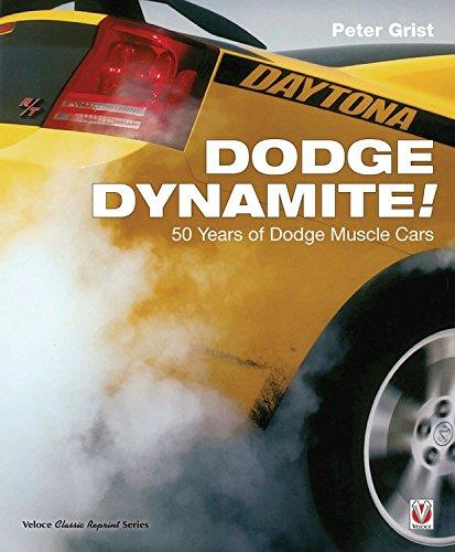 Dodge Dynamite! : 50 Years of Dodge Muscle Cars - Front Cover