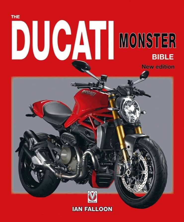 The Ducati Monster Bible - Front Cover
