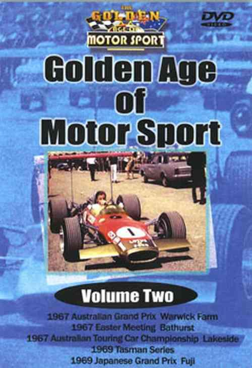 Golden age of Motorsport Volume 2 1967 - 1969 DVD