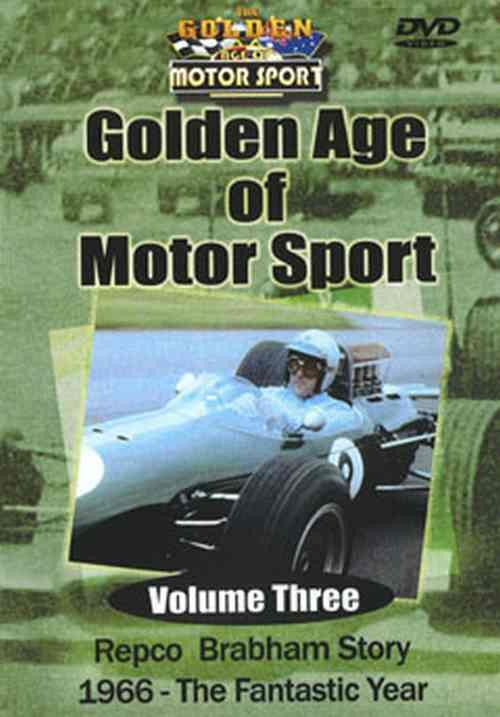 Golden age of Motorsport Volume 3 1966 Fantastic Year DVD