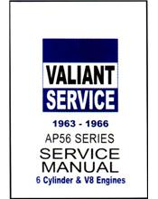 Chrysler Valiant (AP5 & AP6) 1963 - 1966 Service Repair Manual