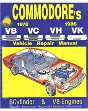 Holden Commodore (VB, VC, VH, VK) 1978 - 1986 Ellery Repair Manual