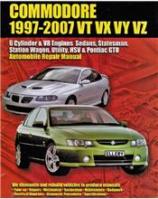 Holden Commodore (VT, VX, VY, VZ, 6 Cyl & V8) 1997 - 2007 Ellery Repair Manual