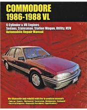 Holden Commodore (VL Series) 1986 - 1988 Ellery Repair Manual