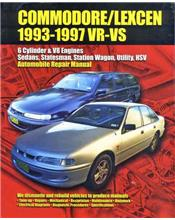 Holden Commodore / Toyota Lexcen (VR, VS) 1993 - 1997 Ellery Repair Manual