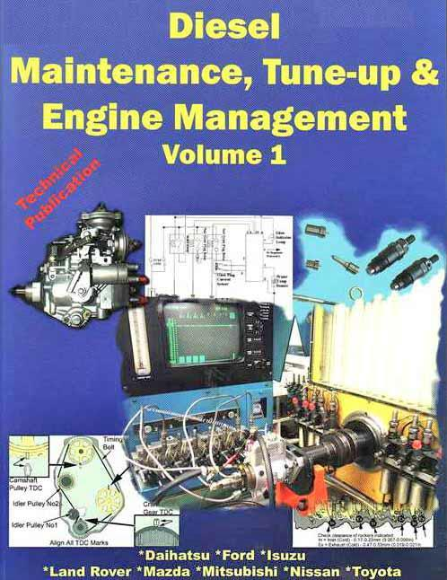 Diesel Maintenance Tune Up & Engine Management 1982 - 1997 - Front Cover