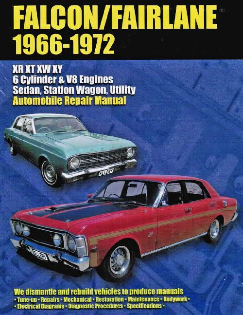 Ford Falcon & Fairlane XR, XT, XW & XY 1966 - 1972